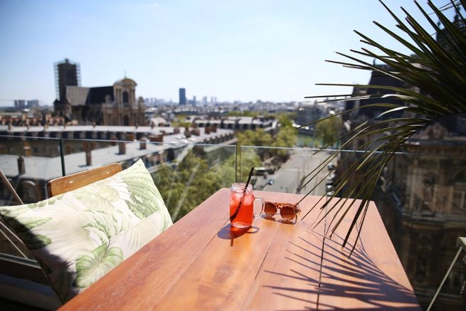 Our 5 Favorite Rooftop Bars in Paris