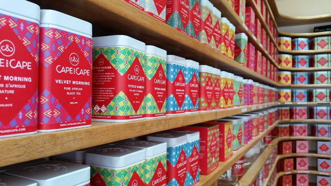 African teas at Cape and Cape in Paris