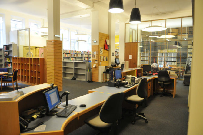 American Library in Paris – closed for major renovations