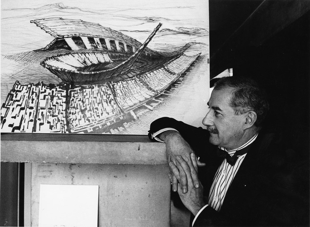 Claude Parent in middle-age