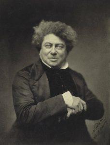 Alexandre Dumas in 1855