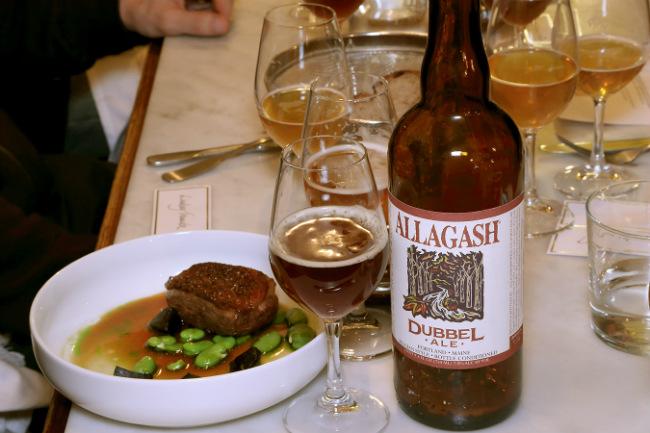 craft beer and food pairings at Jones