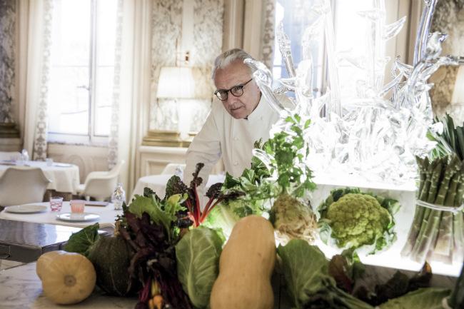 Alain Ducasse at Le Meurice