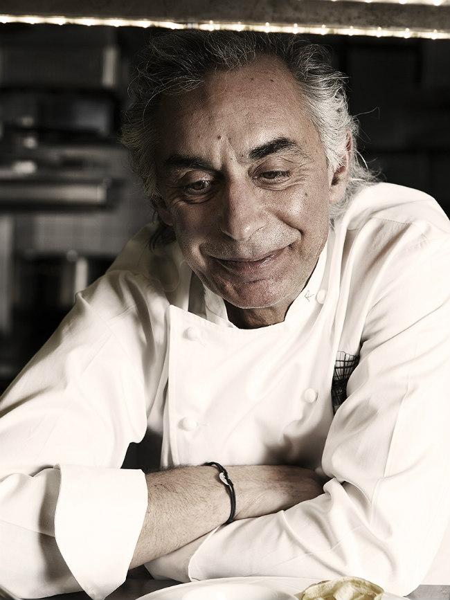 chef Robert at La Grande Cascade, Paris