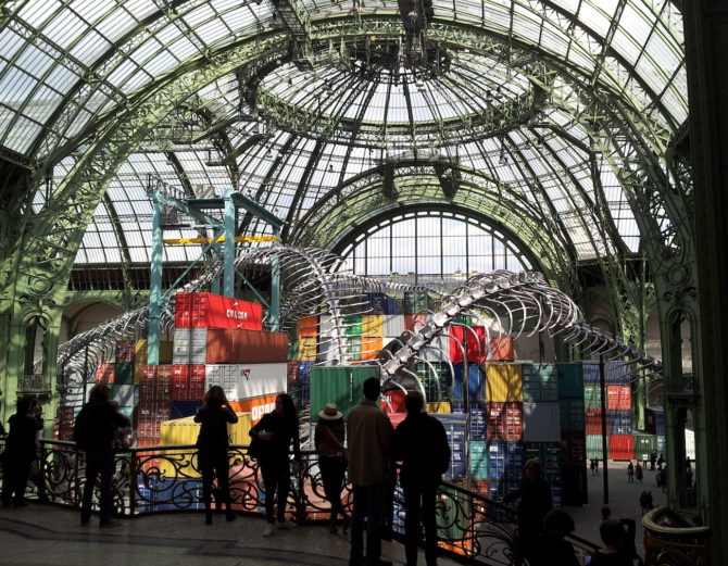 In Pictures: Monumenta 'Empires' at the Grand Palais