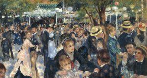 Pierre Auguste Renoir Le Moulin de la Galette Musee d'Orsay
