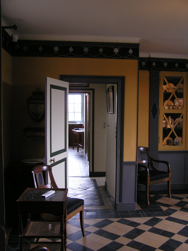 Interior of Maurice Ravel's home