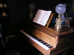 Maurice Ravel's piano