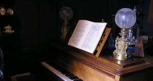 Maurice Ravel's piano