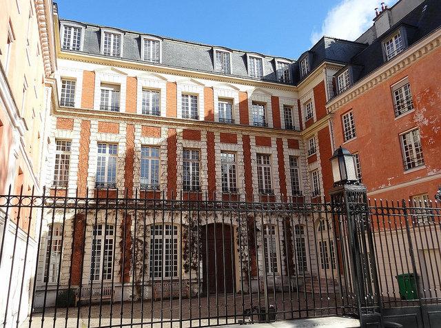 Rue du Parc-Royal in the Marais district