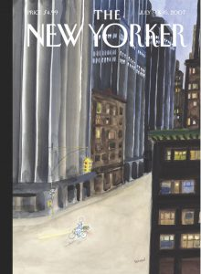 """Sempé's """"Fresh Produce"""" illustration for the cover of The New Yorker"""