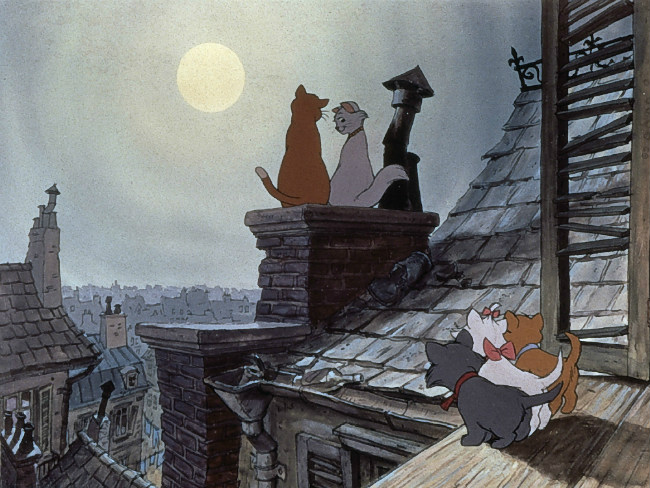 "Walt Disney's ""The Aristocats"" movie"