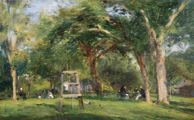 Felix Cals, Honfleur, Saint-Siméon (1879)