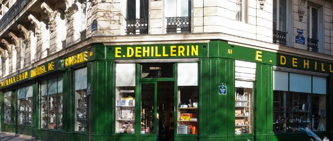 E Dehillerin