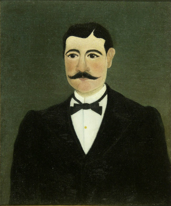 Henri Rousseau, dit le Douanier, Portrait of Frumence Biche, 1892, oil on canvas, 46 x 36 cm, Nice, Musée International d'Art Naïf Anatole Jakovsky, N.Man.002.P0720 © Musée International d'Art Naïf Anatole Jakovsky, Nice.