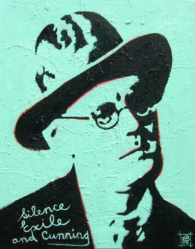 James Joyce by Brian Breathnach (2006)