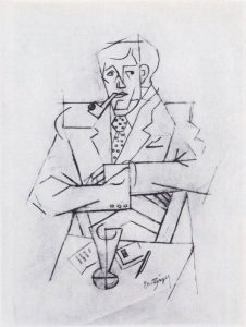 Jean Metzinger, Study for a Portrait of Guillaume Apollinaire