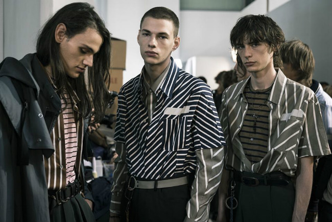 Parisian Male Models Give Good Face: Spring 2017 Menswear Shows in Paris