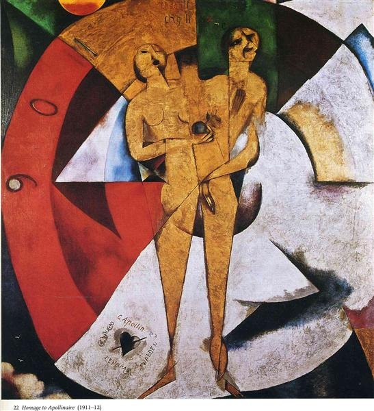 Marc Chagall, Homage to Apollinaire