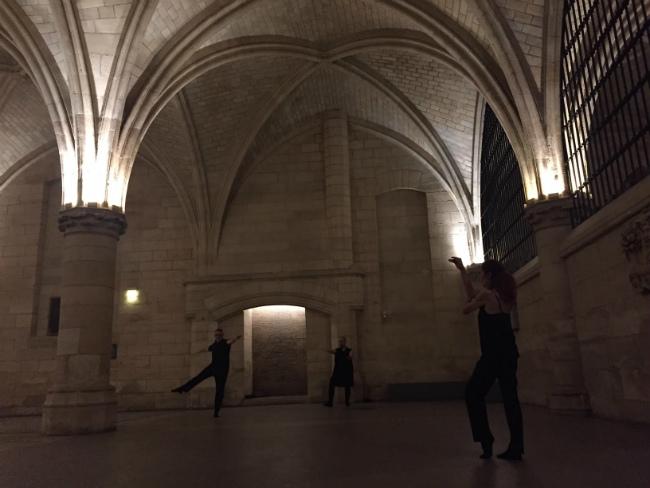 """""""Monuments en Mouvement"""" at the Conciergerie."""