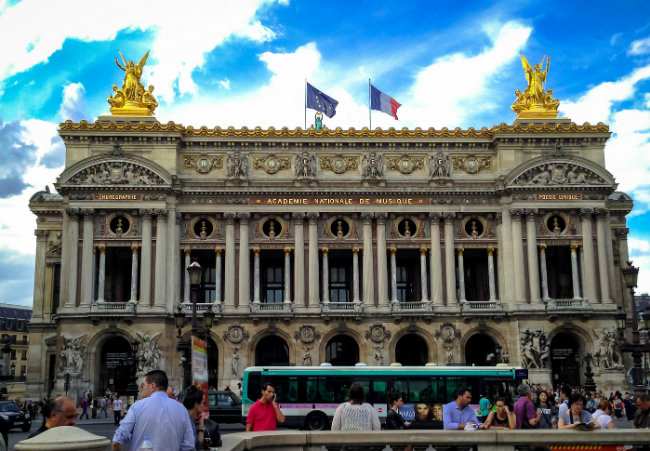 Down Under at the Palais Garnier Opera House
