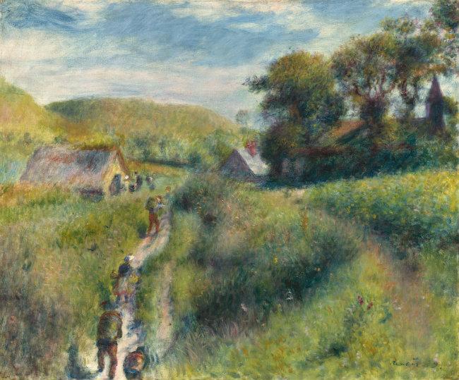 Renoir, La Cueillette des moules