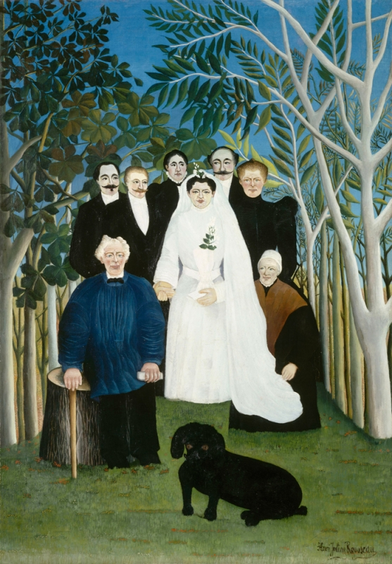 Rousseau, The Wedding Party, c. 1905