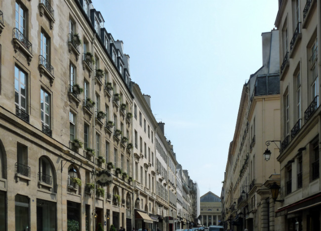 The rue de l'Odéon in Paris