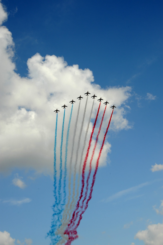 Bastille Day flyover, Paris