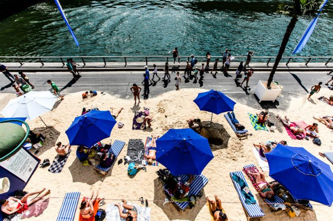 Paris Plages: The Beach Arrives for the Summer on the Seine