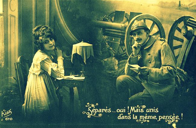 vintage sweetheart postcard