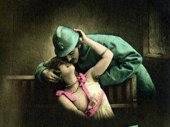 vintage sweetheard postcard