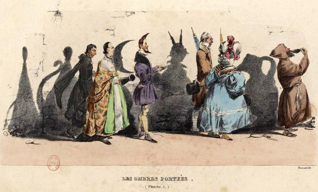 Illustration de Grandville dans le journal La Caricature du 18 novembre 1830 / Public Domain