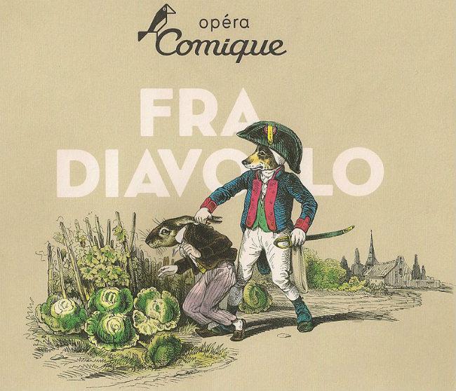 """Lithographie """"Ah! J 't'y prends mon lapin… à manger les choux du voisin…"""" - Les Métamorphoses du jour (1828–29) de Grandville / Public Domain"""