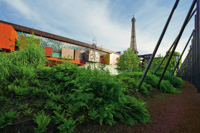 Jardin at the Quai Branly Museum