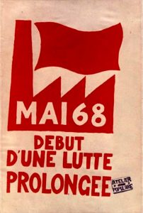 Revolutionary poster, France, May 1968 / Public Domain