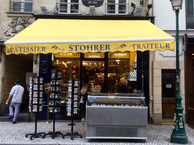Stohrer is the oldest patisserie in Paris