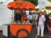 A Paris ice cream chariot