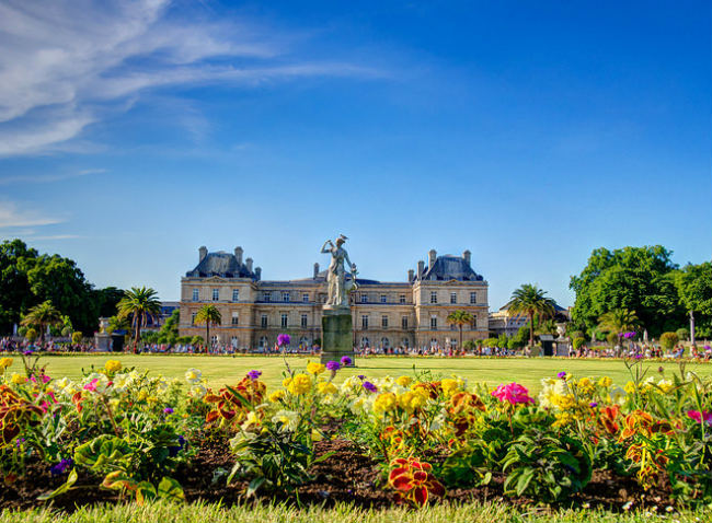 Palais du Luxembourg, Paris by Randy Connolly/Flickr