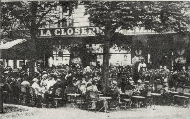 La Closerie des Lilas en 1909 / Public Domain