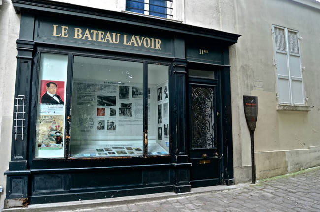 Site of Le Bateau-Lavoir / David McSpadden/Flickr / Public Domain