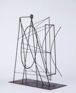 Pablo Picasso, maquette for Apollinaire Memorial, c. 1928; MP 264, Paris, Musée national Picasso. ©Session Picasso. (©Photo RMN-Bétrice Hatala).