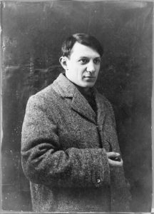 Portrait photograph of Pablo Picasso, 1908 / Photo (C) RMN-Grand Palais / Public Domain