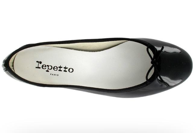 Repetto's famous ballerina flats