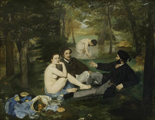 Le déjeuner sur l'herbe, Musée d'Orsay 1863