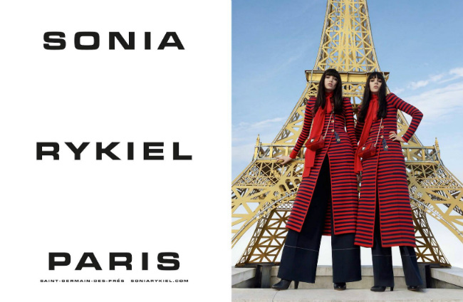 Sonia Rykiel Fall Winter 2016 Ad Campaign