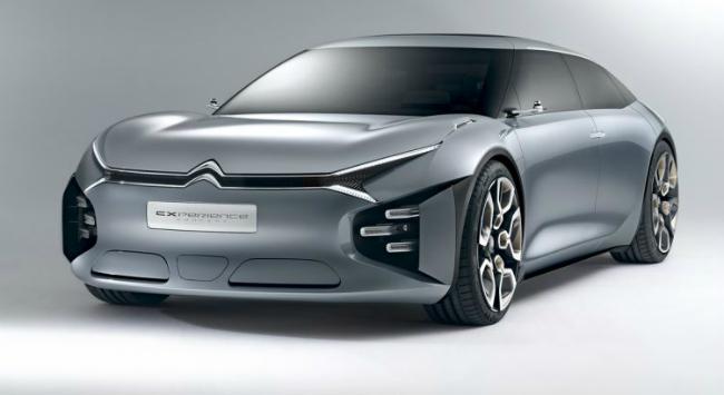 Citroën's new CXperience concept car