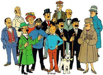 Tintin's cast of characters