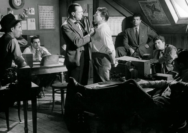 "A still from the 1947 film ""36 quai des Orfèvres""."