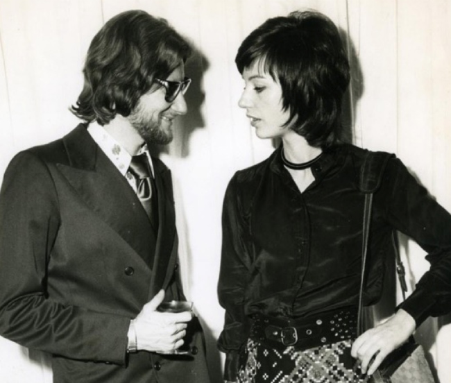 Yves Saint Laurent and Mary Russell